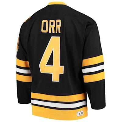 (Adidas Boston Bruins Heroes Of Hockey Throwback Hockey Jersey - Bobby Orr - Adult)