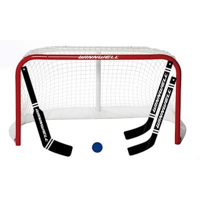 (Winwell ProForm Mini Net w/ 2 Sticks, 1 Goal Stick & Ball)