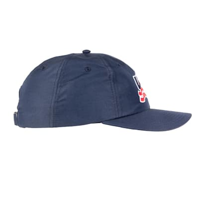 Navy Side (USA Hockey Performance Cap - Adult)