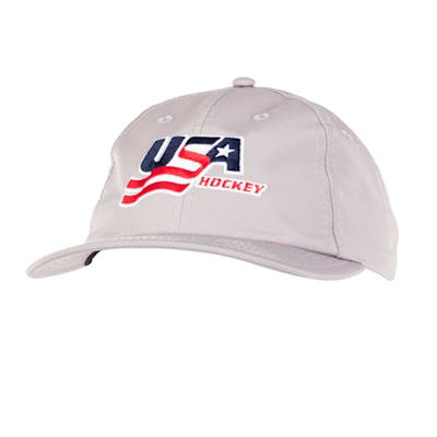 Grey Front (USA Hockey Performance Cap - Adult)