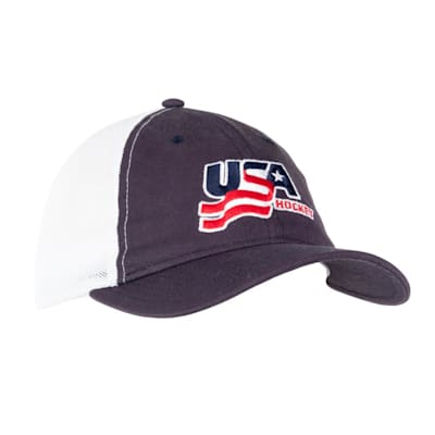 Navy (USA Hockey Meshback Cap - Adult)