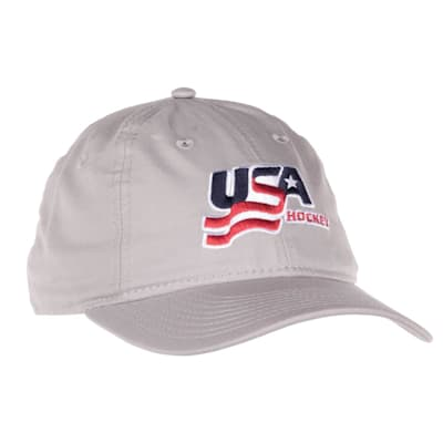 (USA Hockey Adjustable Dad Cap - Adult)