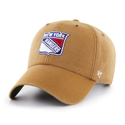 (47 Brand Carhartt Cleanup Hat - NY Rangers - Adult)