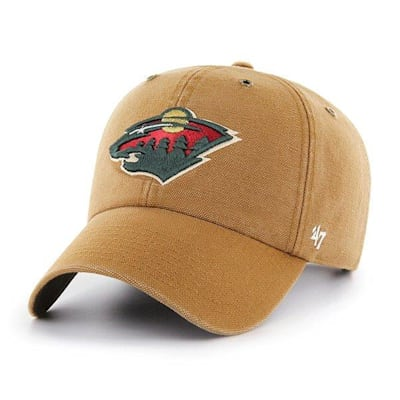 (47 Brand Carhartt Cleanup Hat - Minnesota Wild - Adult)