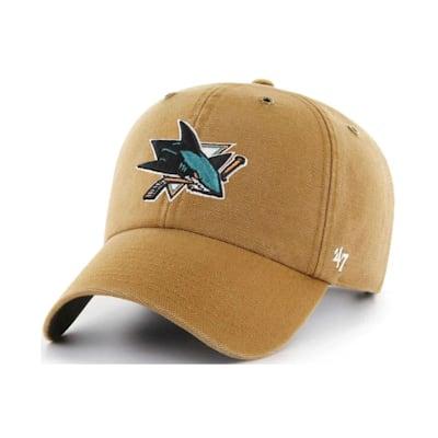 (47 Brand Carhartt Cleanup Hat - San Jose Sharks - Adult)