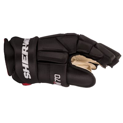 (Sher-Wood REKKER M70 Hockey Gloves - Junior)