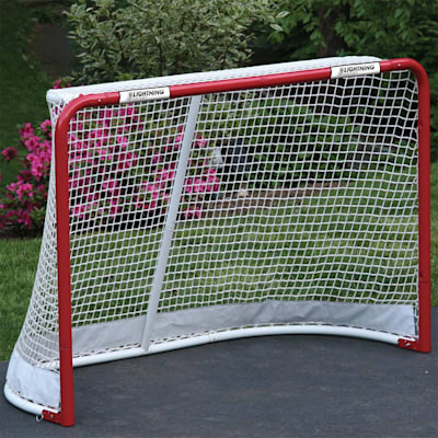 (Lightning Sports 4x6 Folding Hockey Goal)