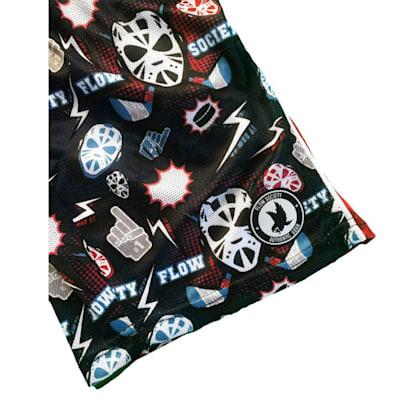 Flow Society Boys Hat-Trick Attack Shorts