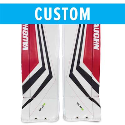 (Vaughn Custom Ventus SLR2 Pro Carbon Goalie Leg Pads - Senior)