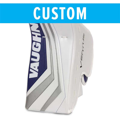 (Vaughn Custom Ventus SLR2 Pro Carbon Goalie Blocker - Senior)