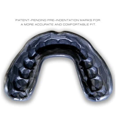 (GuardLab Apex Mouth Guard - Black - Senior)