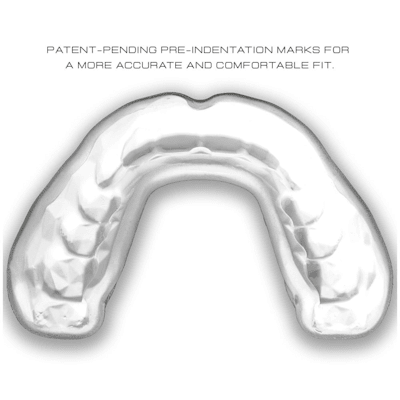 (GuardLab Apex Lite Mouth Guard - Clear - Senior)