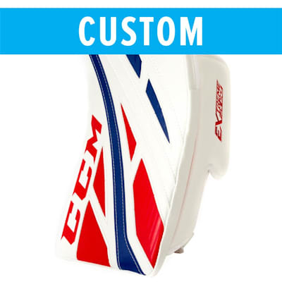 (CCM Custom Extreme Flex 4 Goalie Blocker - Senior)