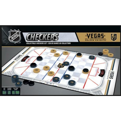 (MasterPieces NHL Checkers - Vegas Golden Knights)