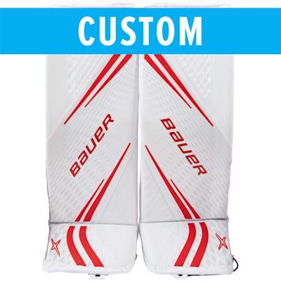 (Bauer Custom Vapor 2X Pro Goalie Leg Pads - Senior)