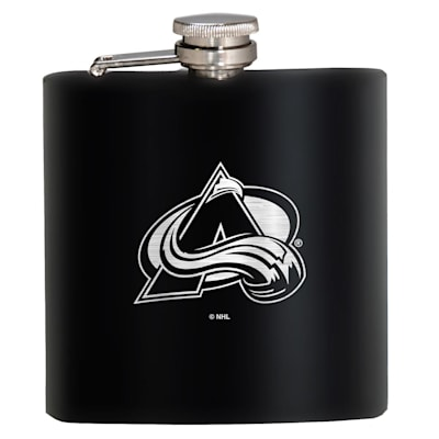 (Colorado Avalanche Stainless Steel Flask)