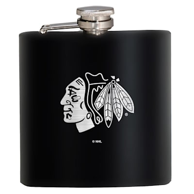 (Chicago Blackhawks Stainless Steel Flask)
