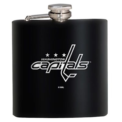 (Washington Capitals Stainless Steel Flask)