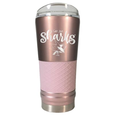 (San Jose Sharks 24oz Vacuum Insulated Tumbler)