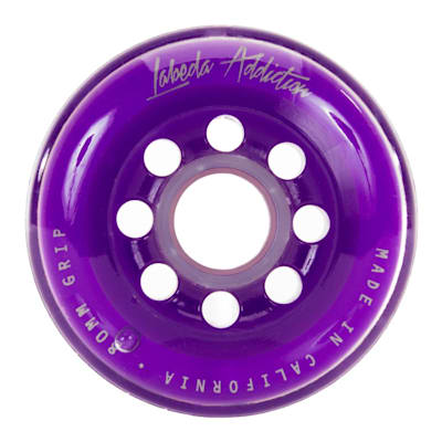 (Labeda Addiction Signature Inline Hockey Wheel - Purple)