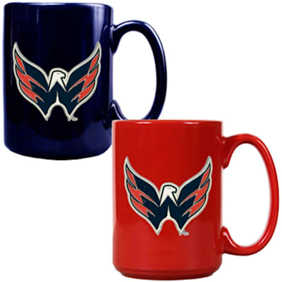 (Washington Capitals 15 oz Ceramic Mug Gift Set)