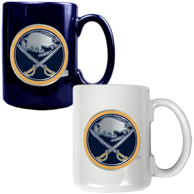 (Buffalo Sabres 15 oz Ceramic Mug Gift Set)