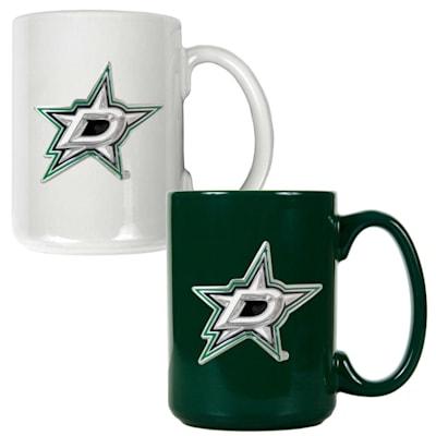 (Dallas Stars 15 oz Ceramic Mug Gift Set)