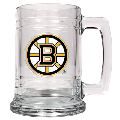 (Boston Bruins 15 oz Classic Glass Mug)