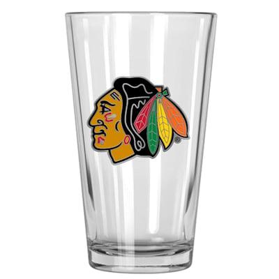 (Chicago Blackhawks 16oz Pint Glass)