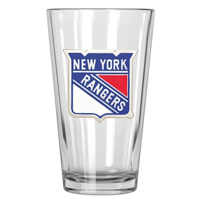 (New York Rangers 16oz Pint Glass)