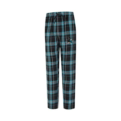 (Hillstone Flannel Pant San Jose Sharks - Adult)