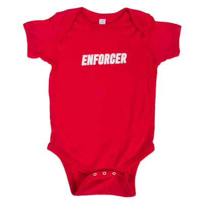 Front (Enforcer Baby Onesie - Infant)