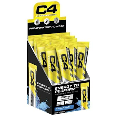 (Cellucor C4 Stick Packs 25per Box / Sold Individually)