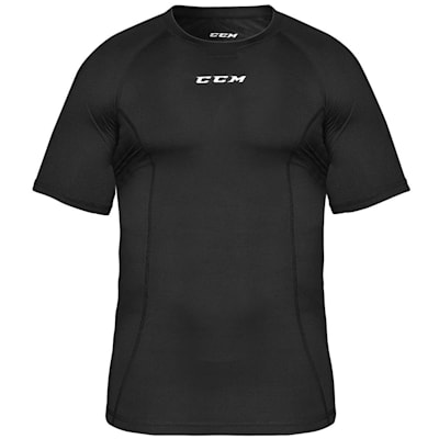 (CCM Performance Compression Short Sleeve Tee - Adult)