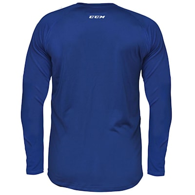 (CCM Performance Loose Fit Long Sleeve Base Layer - Adult)