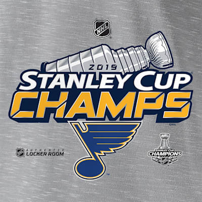 (Fanatics St. Louis Blues 2019 Stanley Cup Champions Locker Room Tee - Adult)