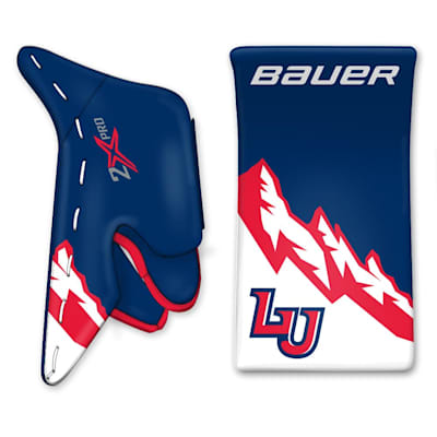 (Bauer True Design Custom Vapor 2X Pro Goalie Blocker - Senior)