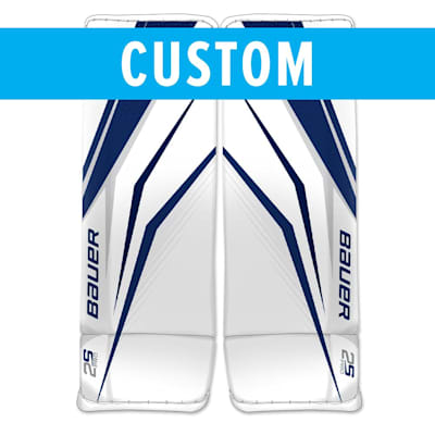 (Bauer True Design Custom Supreme 2S Pro Goalie Leg Pads - Senior)