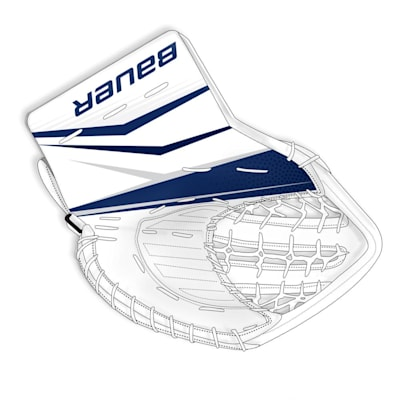(Bauer True Design Custom Supreme 2S Pro Goalie Glove - Senior)