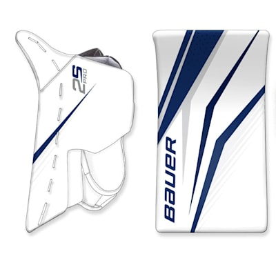 (Bauer True Design Custom Supreme 2S Pro Goalie Blocker - Senior)