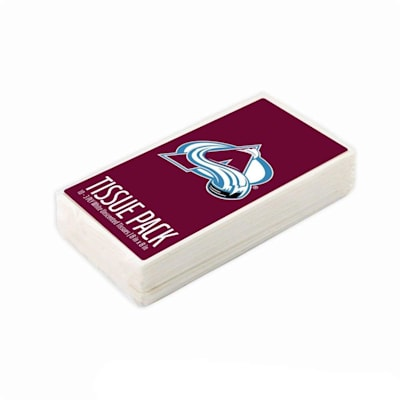 (Colorado Avalanche NHL Tissue Packet)