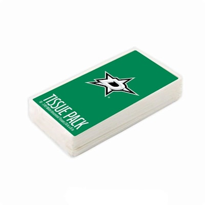 (Dallas Stars NHL Tissue Packet)