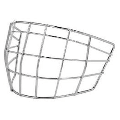 NME Certified Flatwire Goalie Cage (Bauer NME & Concept Replacement Cage - Junior)