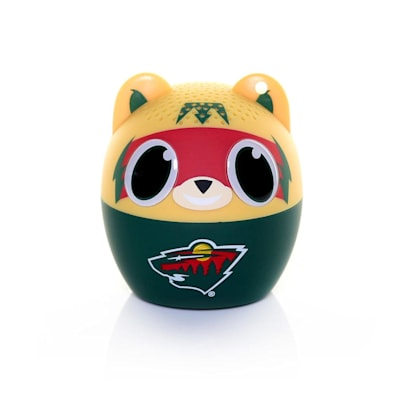 (NHL Bitty Boomers Bluetooth Speaker - Minnesota Wild)