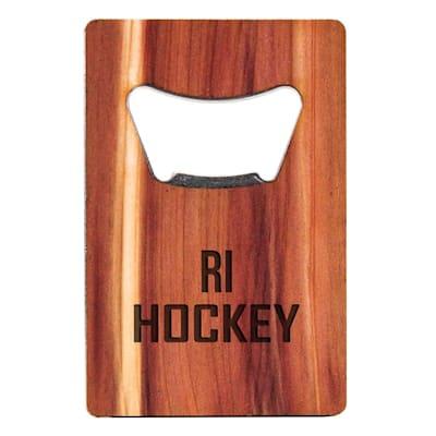 (Woodchuck USA Rhode Island Hockey Bottle Opener- Short)