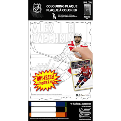 (Frameworth Alexander Ovechkin NHL Coloring Plaque)