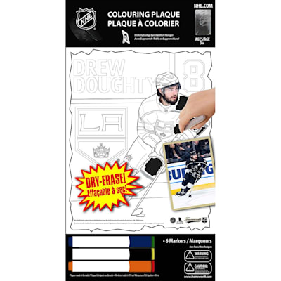 (Frameworth Drew Doughty NHL Coloring Plaque)