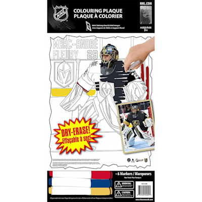 (Frameworth Marc-Andre Fleury NHL Coloring Plaque)