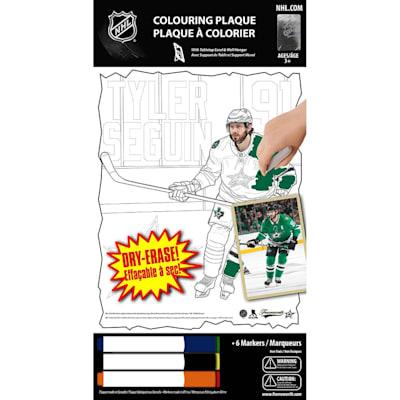 (Frameworth Tyler Seguin NHL Coloring Plaque)