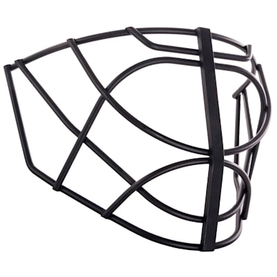 Black (SportMask Non-Certified Flatbar Cat Eye Cage)